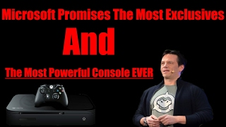 Microsoft Promises The Most Xbox Exclusives & The Most Powerful Console Ever This Year!! WOW!!
