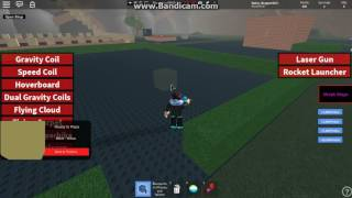Playing Build to Survive monstaer in Roblox