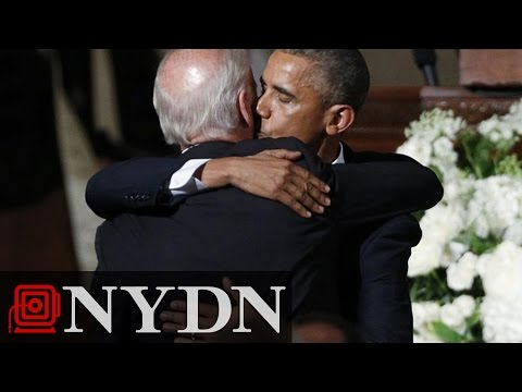 Obama Gives Eulogy at Packed Funeral Service for Beau Biden