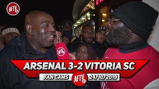 Arsenal 3-2 Vitoria SC | Ozil Is Not A Part Of Emery's Plans! (Kenny Ken)