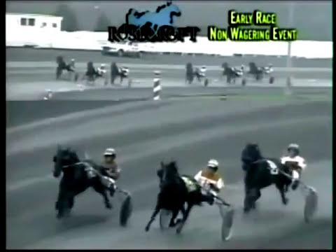 2005 Rosecroft Raceway VIVID PHOTO MSRF $50,575 Roger Hammer