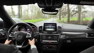 Mercedes GLE 63 S AMG Coupe 2016 Test Drive