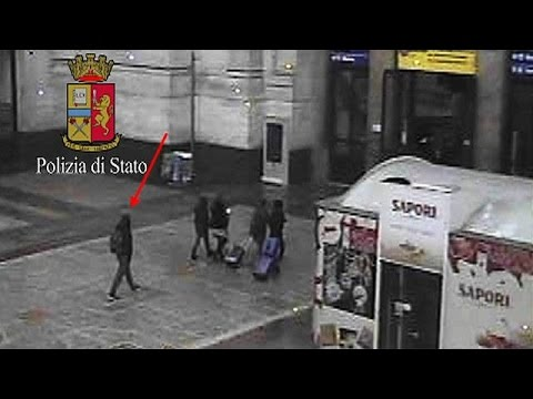Italian police release CCTV image of suspected Berlin lorry attacker in Milan