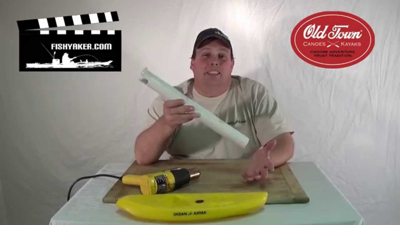 Make Your Own Pvc Fishing Rod Holders And Flare The Ends