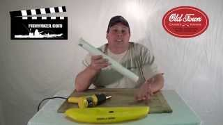 Make Your Own Pvc Fishing Rod Holders And Flare The Ends With A Heat Gun: Episode 149