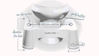Squatty Potty Ecco Toilet Stool Video Review B007BISCT0