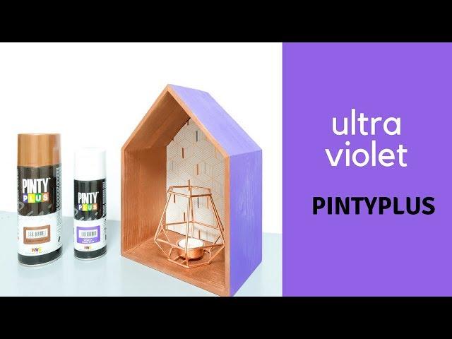 Decoración Lowcost con el color del 2018: Ultra Violet