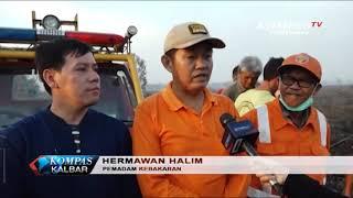 Download Kebakaran Lahan di Sungai Pinyuh Meluas Mp3 and Videos