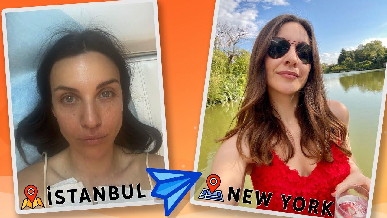 İSTANBUL'DA BAŞLAYIP NEW YORK'TA BİTEN VLOG
