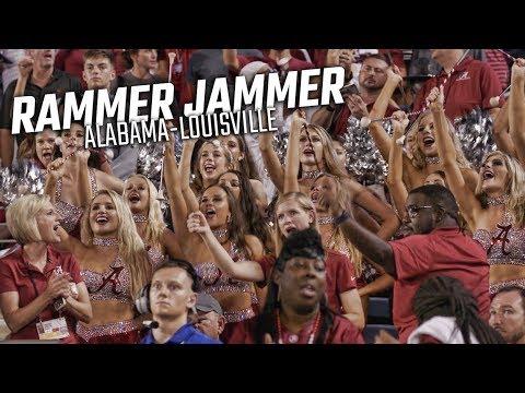 Alabama fans sing Rammer Jammer after Louisville win