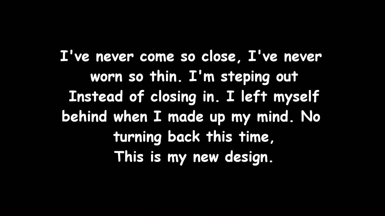 TFK - New Design (Lyrics) - YouTube