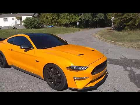 2019 Mustang GT Off-road X Pipe/Corsa Extreme Axle-Back