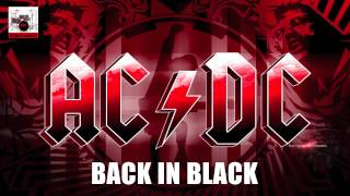 DrumTracksTv - AC/DC - Back In Black - Guitar / Bass Backing Track - Drums only