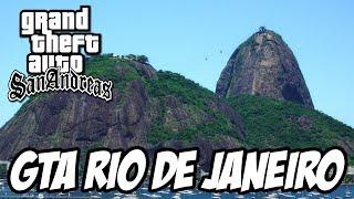 GTA San Andreas - Rede GLOBO, Cristo Redentor e Pão de Açucar RIO DE JANEIRO MOD
