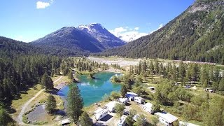 Camping Morteratsch im Engadin (Schweiz/Switzerland)
