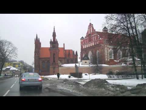 Weather in Vilnius, Lithuania, 2010-02-24, temperature 0 C from Oras TV