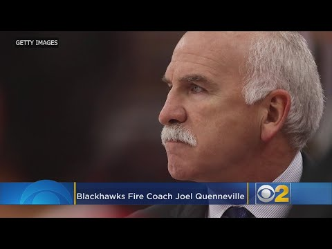 Blackhawks Fire Joel Quenneville, Name Jeremy Colliton Head Coach