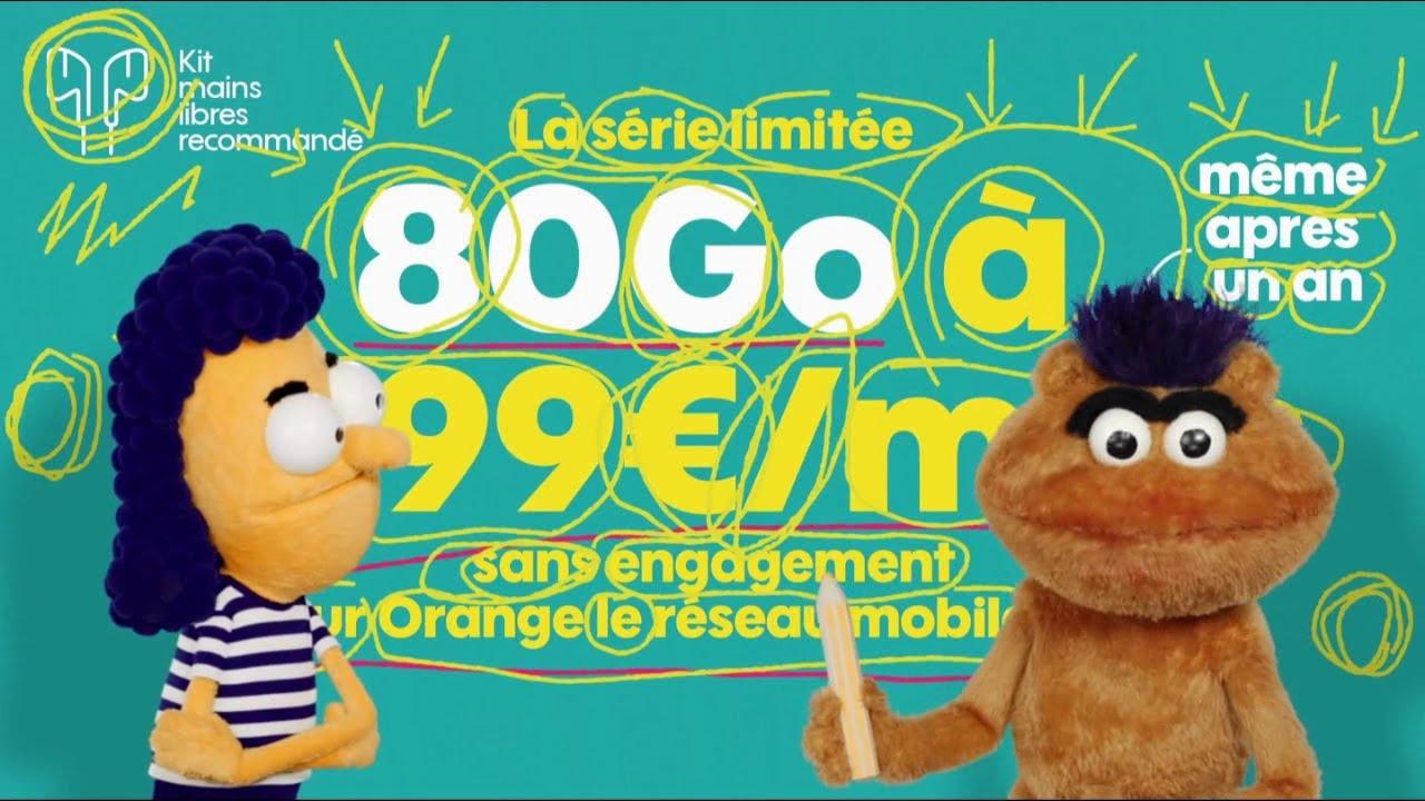 """Musique de la pub Sosh série limitée 80Go """"les infos importantes"""" """"sur Orange le réseau mobile n°1""""  2021"""