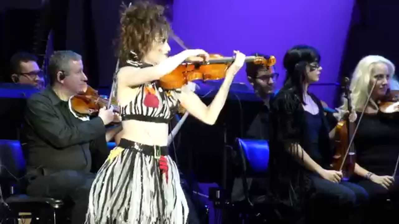 violin overture by sandy cameron nightmare before christmas live the hollywood bowl 10 31 2015 youtube - Danny Elfman Nightmare Before Christmas Overture