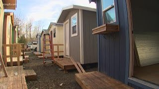 Tiny Home Village For The Homeless