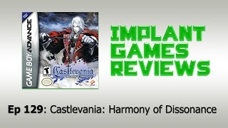 Castlevania: Harmony of Dissonance Review (Game Boy Advance)