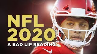 """NFL 2020"" - A Bad Lip Reading"