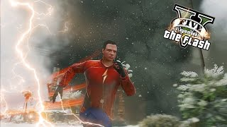GTA 5 PC - The Flash Stops Tornado ! Zoom Kidnap Jay Garrick ! (Ultimate Flash Mod Gameplay)