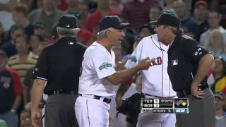 2012/08/07 Pedroia's ejection