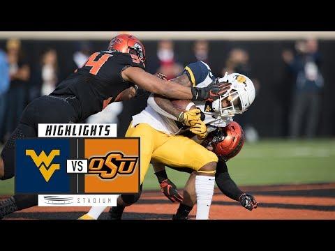 No. 9 West Virginia vs. Oklahoma State Football Highlights (2018) | Stadium