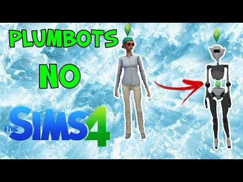Robôs/Plumbots no The Sims 4! - YouTube