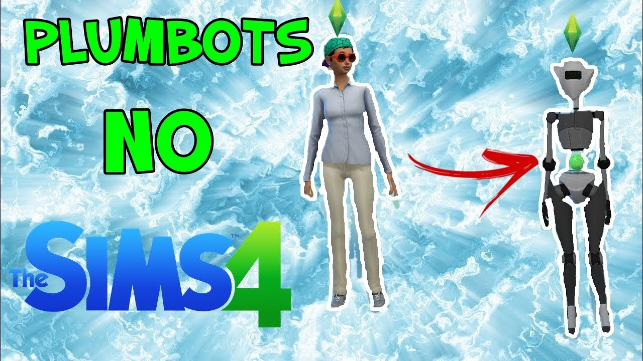Robôs/Plumbots no The Sims 4!