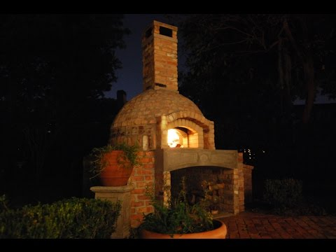 How to Build a Brick Wood Fired Pizza Oven/Smoker Combo