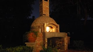 How To Build A Brick Wood Fired Pizza Oven/smoker Combo - Full Video