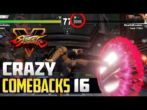 SFV S2.5 ▰ Unbelievable / Epic Street Fighter V Comebacks Volume 16