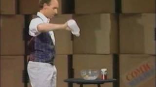 "Comic Relief  ""Michael Davis "" 1980's Stand Up Magic Comedy"