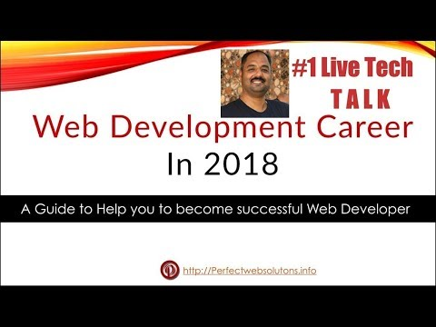 #1 live Tech Talk (perfect web solutions): how to be a successful in web development in English 2018