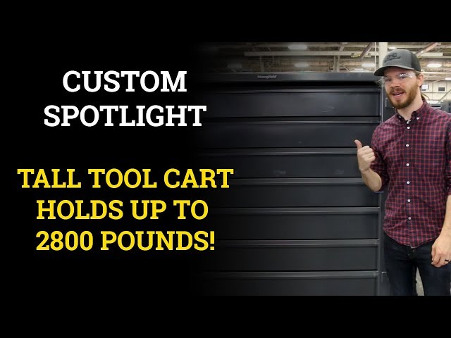 Custom Spotlight: Tall Tool Cart