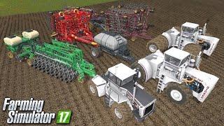 Siewniki - maszyny z dodatku BIG BUD | Farming Simulator 17