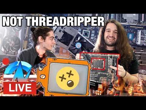 LIVE: GN 3175X Water Cooling Production PC Build Prep