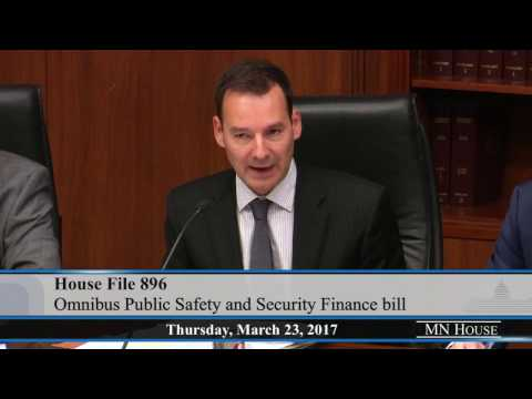 House Public Safety and Security Policy and Finance Committee  3/23/17