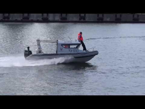 Muuga boat test.