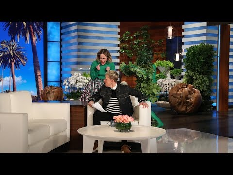 Sarah Paulson Attempts to Get a Scare Revenge on Ellen