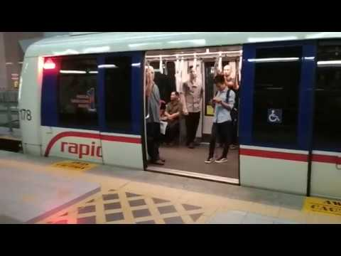 Experience using Light Rapid Transport (LRT) from Pasar Seni to KL Sentral