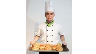 Học Làm Bánh Mì FIRE FLOSSS ( Bánh Mì Chà Bông ) Cùng Baker Phi Long