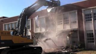 Wasatch Elementary Demolition