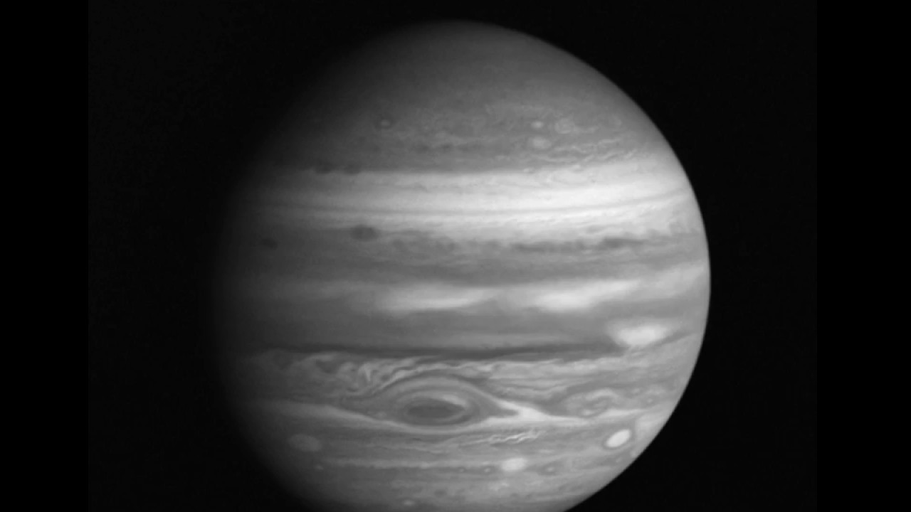 Voyager 2 Jupiter approach movie - YouTube