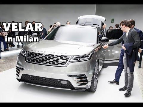 Range Rover Velar at Milan Design Week