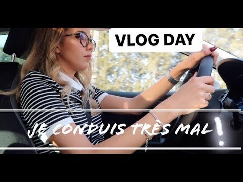 VLOG DAY - Drive test et papa qui me bahdel xD // Beauty