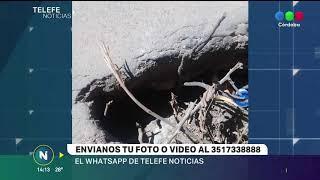 LOS RECLAMOS DE LOS VECINOS EN TELEFÉ NOTICIAS CÓRDOBA  CONTACTANOS POR WHATSAPP AL 3517338888