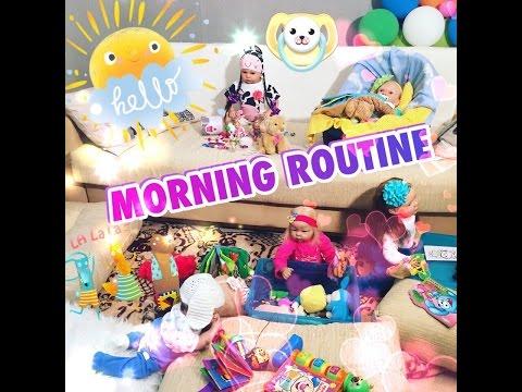 видео: Утро с 6 реборнами/ morning routine!